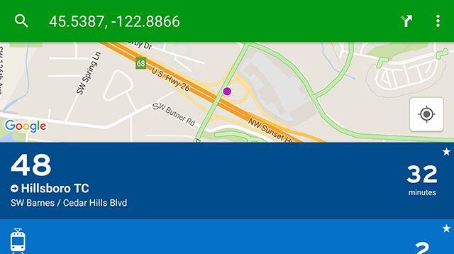 transit-app-desligada trânsito