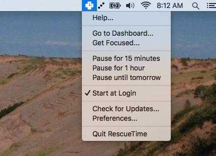 RescueTime-mac