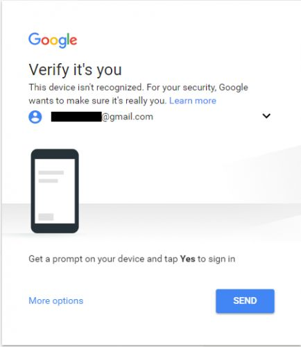 Google Play Music Desktop Player verificar