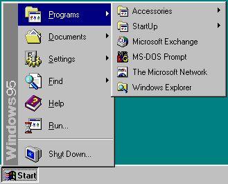 Windows_95_Start_menu