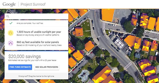 Projeto Google Sunroof Informações Rápidas