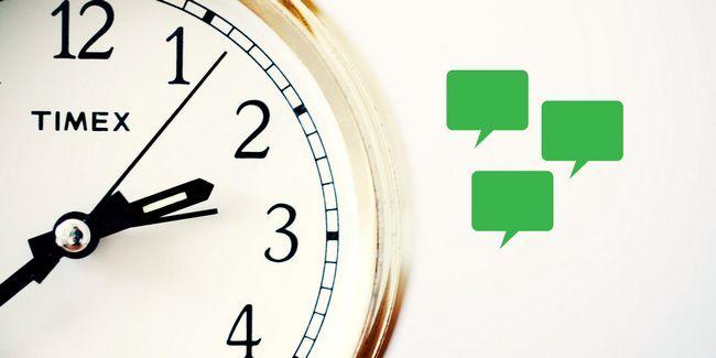 A mensagem certa no momento certo: 4 maneiras de agendar mensagens com android