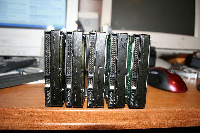 redundância RAID-drives