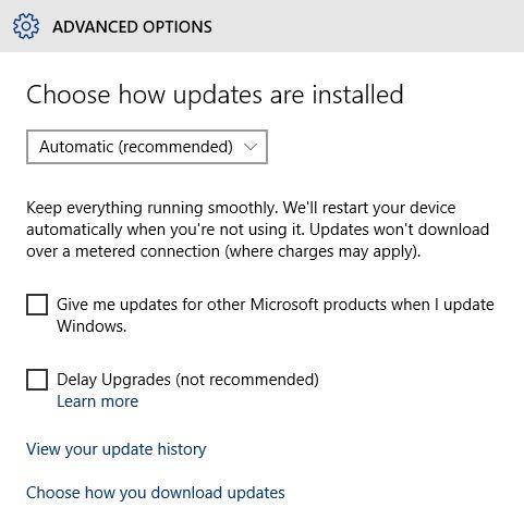 10 Windows Update