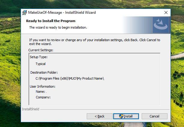 pacote de software anatomia instalar installshield
