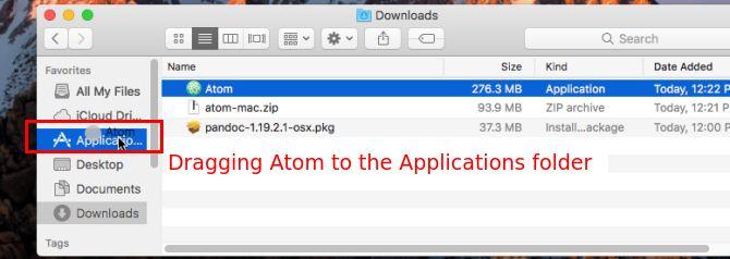 cópia aplicativo mac