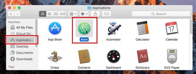 mac aplicativo instalado