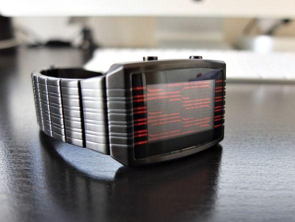 Tokyoflash kisai on-line revisão relógio lcd e doação