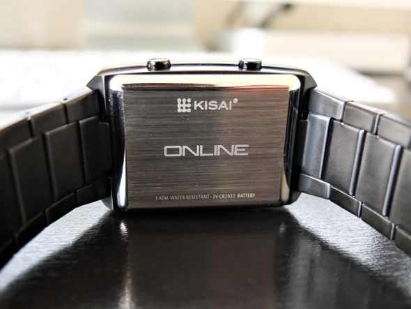 Tokyoflash Kisai lcd on-line revisão relógio