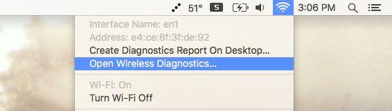 mac-open-wireless-diagnóstico