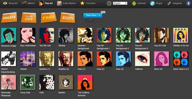 pop cromo estúdio de arte on-line