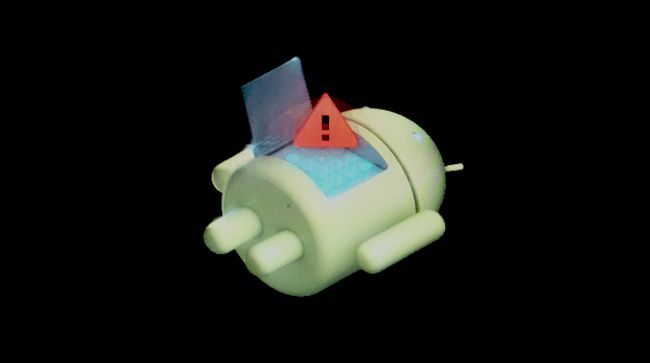 dispositivo android emparedada