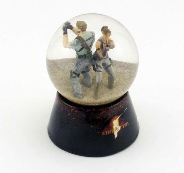 Resident Evil 5 Snow Globe
