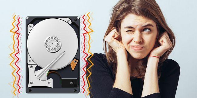 O que posso fazer quando o meu disco rígido faz ruídos estranhos?