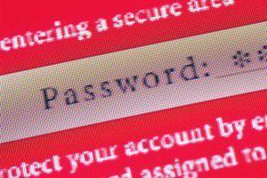 Senhas fracas são uma causa comum de pirataria e-mail.