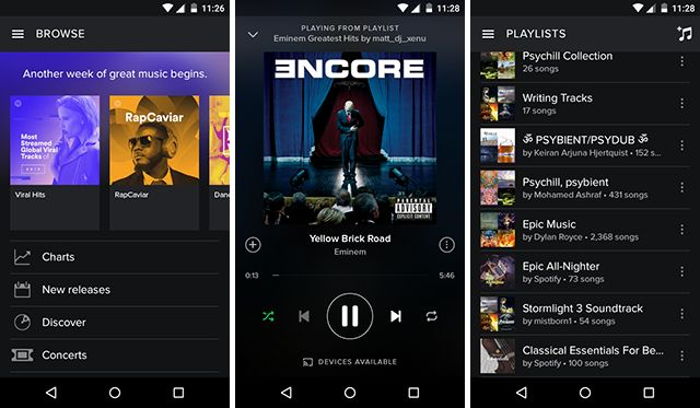 best-android-streaming-app Spotify