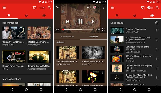 best-android-streaming-app-youtube-music