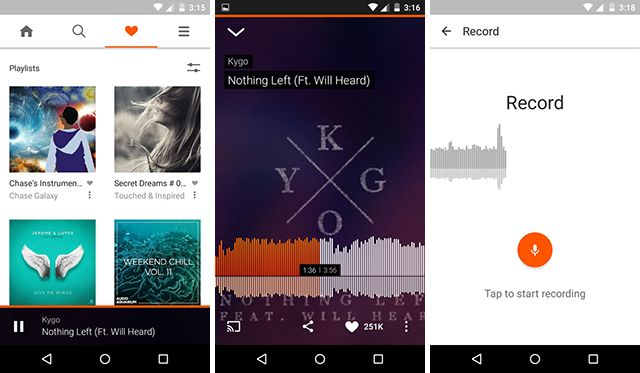 best-android-streaming-app Soundcloud