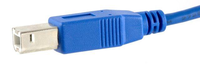 USB-padrão b;