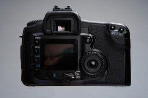 câmeras SLR são boa opção para tirar fotos profissionais.