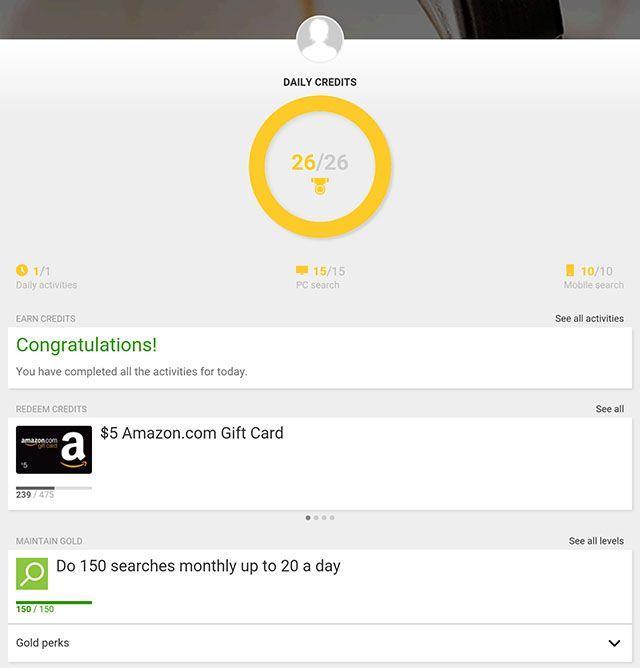 Bing-recompensas-tablet-dashboard