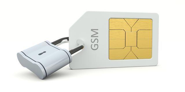 cartões SIM-lock