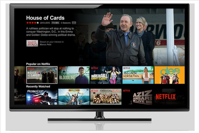 Netflix tela