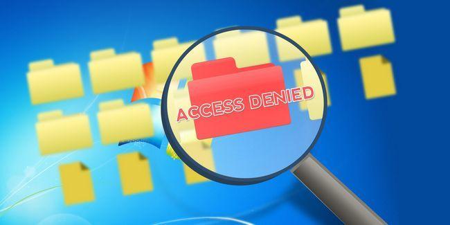 Do windows problemas do sistema de arquivos: por que recebo acesso negado?