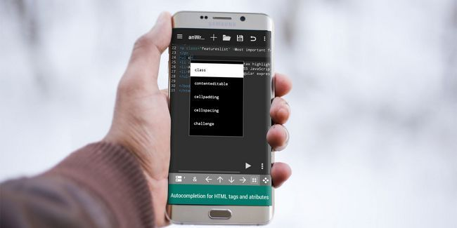 Sim, você pode codificar em movimento: 7 dos melhores editores html para android